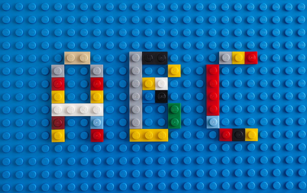 Lego Letters Game