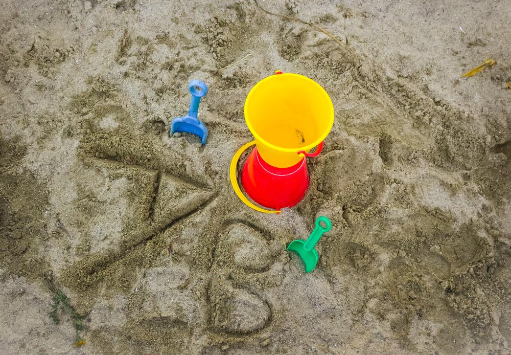 Alphabet Sand Trays
