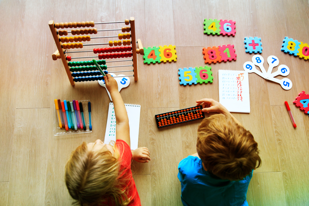 kids with scores