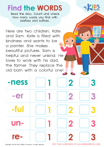 Prefix and suffix worksheet for grade 3
