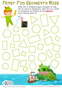 Peter Pan Worksheet Preview