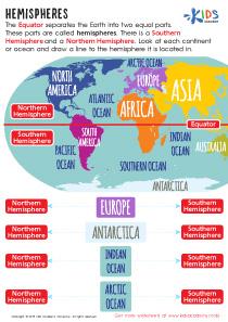 Hemispheres Worksheet Preview
