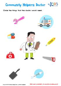 Community Helpers Doctor