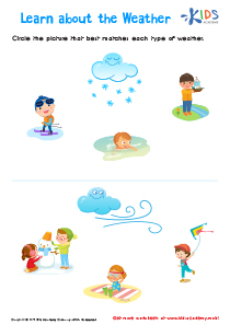 Learn About the Weather Worksheet