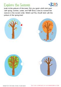 Explore the Seasons Printable