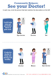 See Your Doctor Worksheet