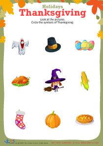 Free printable Thanksgiving worksheet