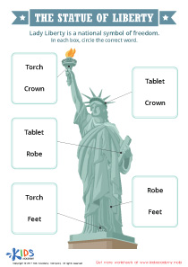 The Statue of Liberty Printable Worksheet