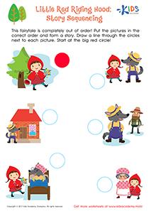 Comprehension Worksheet: Little Red Riding Hood