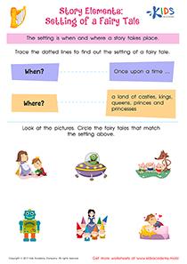 Worksheet: Story Elements