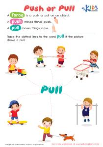 Worksheet: Push or Pull