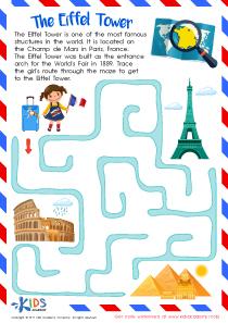 Worksheet: Eiffel Tower