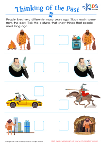 Cute Printable History Worksheet