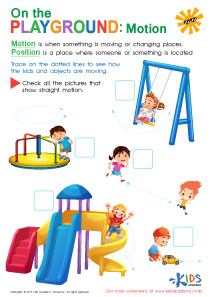 Position and motion worksheets for grade 2