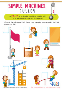 Simple machines pulley worksheet