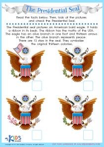 Зresidential seal worksheet