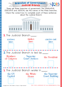 American government judicial branch worksheet