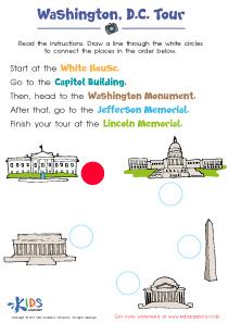 Washington D.C. worksheet
