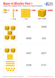 Place Value Thousands Worksheet PDF