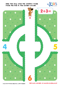 Math: Two And Three Addition PDF Worksheet