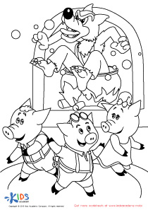 The Three Little Pigs and The Big Bad Wolf