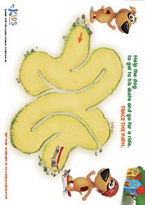 Printable PDF Mazes For Kids: Skater