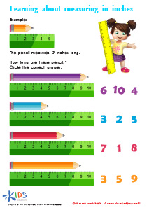 Learning About Measuring In Inches PDF