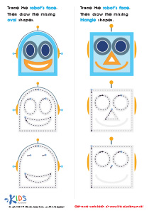 Geometric Shapes for Kids: Drawing Ovals And Triangles with Fun