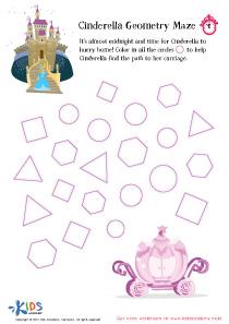 Geometric Maze for Kids