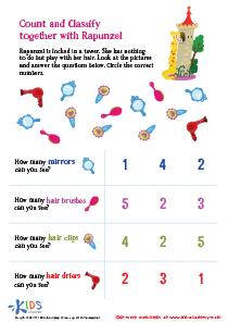 Preschool Counting Worksheets