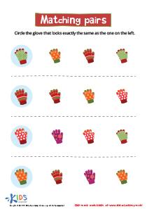 Preschool Matching Worksheets