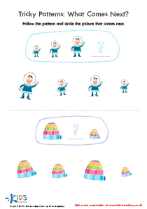 Picture Pattern Worksheet