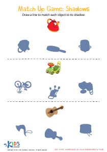 Match-up Worksheet for Toddlers