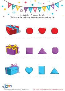 Geometry Matching Worksheet