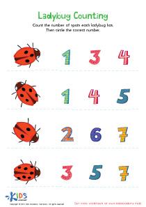 Preschool Matching Numbers