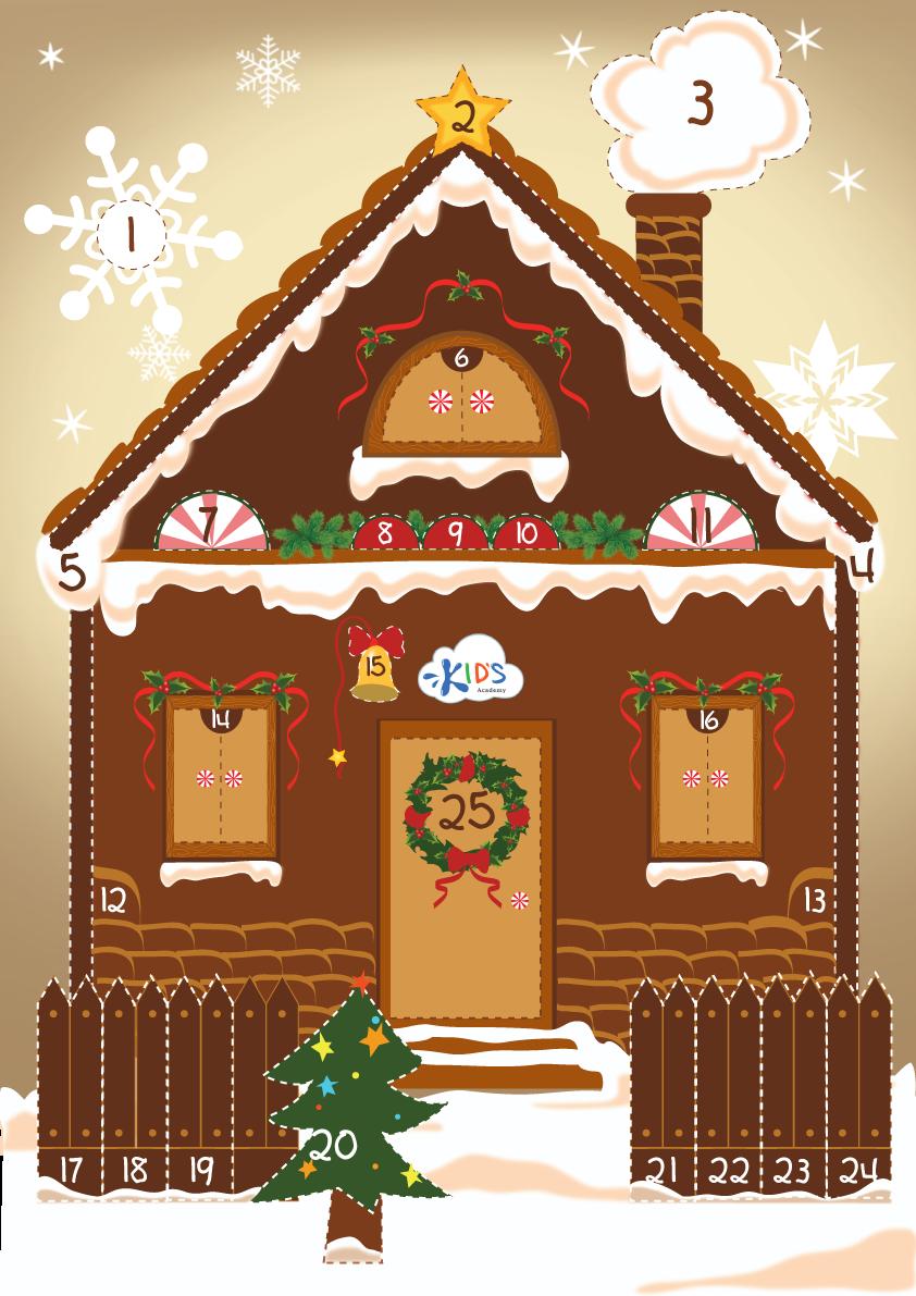 house on christmas