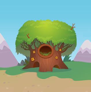 Raccoon Treehouse