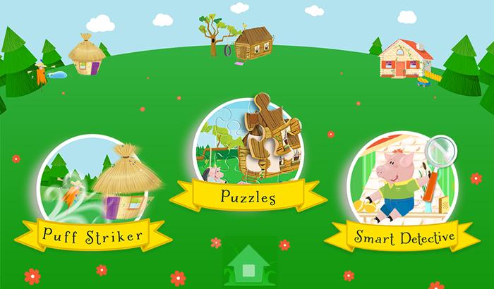 three little pigs games